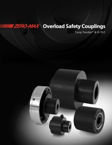 Overload Safety Couplings - Industrial and Bearing Supplies