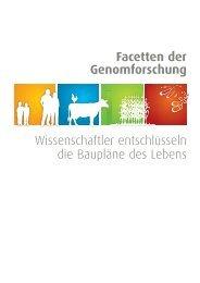 Facetten der Genomforschung Wissenschaftler ... - NGFN
