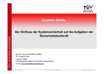Hazard - TÜV Austria Akademie