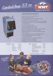 Scheitholz-Kohle-Kessel NMT 14 ; fj.'1;'g' - WEFA-SERVICE