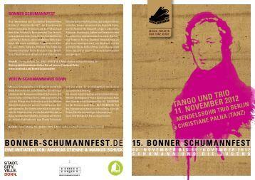 15. Bonner SchumannfeSt Bonner-SchumannfeSt.de
