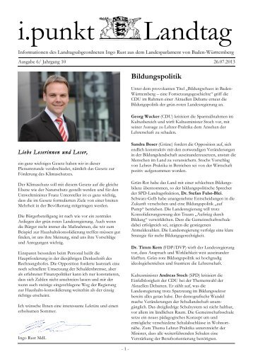 Ausgabe6/2013 - Ingo Rust