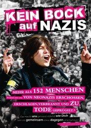 Mehr als 152 Menschen - Kein Bock auf Nazis