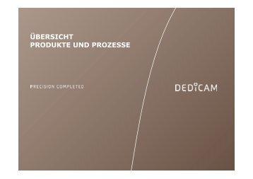 Präsentation (PDF, 2 MB) - dedicam