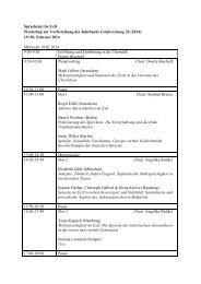 Sprache(n) im Exil Workshop zur Vorbereitung des Jahrbuchs ...