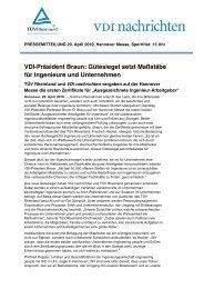 Pressemitteilung TÜV Rheinland