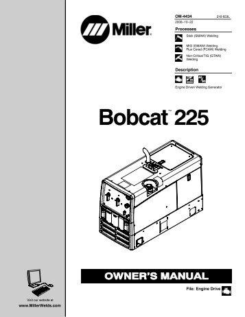 sophisticated miller welder 225 wiring diagram ideas best image on Bobcat 843 Wiring Diagram for miller welder wiring diagram miller free image wiring colection at Bobcat Schematics