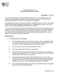 TST-01677-R-T2 - Landlord Tenant Board