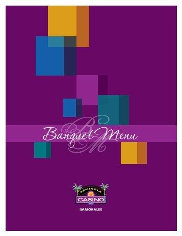 Download Banquet Menu - Seminole Casino Immokalee
