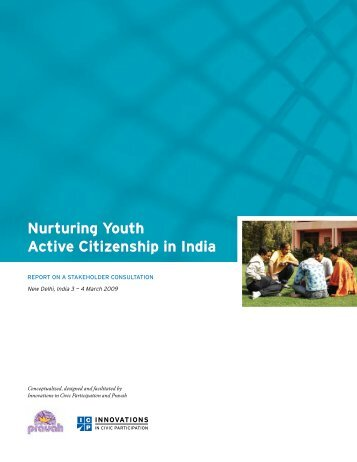 Nurturing Youth Active Citizenship in India - Innovations in Civic ...