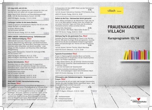 VHS Programm.indd - Villach