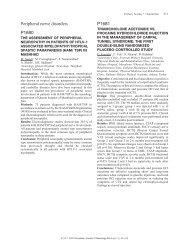 Peripheral nerve disorders P1680 P1681 - Kenes Group