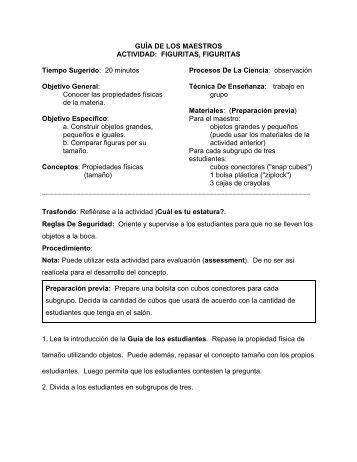GUA DE LOS MAESTROS - Alacima