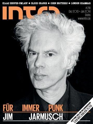 FÜR IMMER PUNK JIM JARMUSCH - Intro Magazin