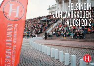 Toimintakertomus 2012 (pdf) - Helsingin juhlaviikot