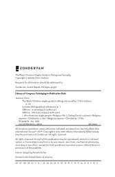 The Black Christian Singles Guide to Dating and ... - Zondervan