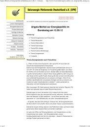 Angela Merkel zur Energiepolitik im Bundestag am 12.09.12