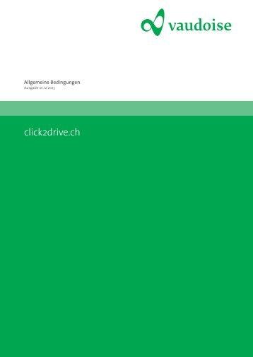 die allgemeinen Versicherungsbedingungen (AVB) Click2Drive.ch ...