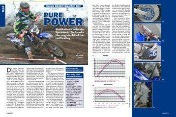TEST Modifikationen und erster Sporteinsatz: Die Yamaha ... - Super B