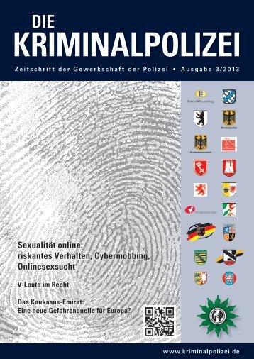 September 2013 - Die Kriminalpolizei