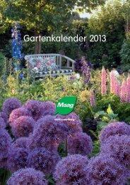 Maag Gartenkalender 2013