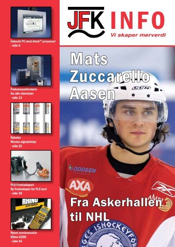 Mats Zuccarello Aasen - Sivilingeniør JF Knudtzen AS