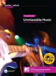Unmissable Music 2011 - Discover Northern Ireland