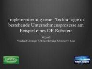 B1. Implementierung neuer Technologie in bestehende ...