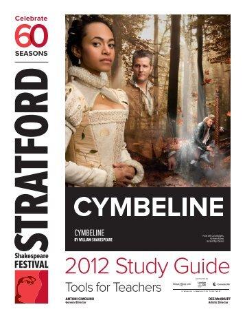 2012 Study Guide - Stratford Festival