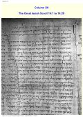 Great Isaiah Scroll Directory - documenta-catholica.eu - Page 6