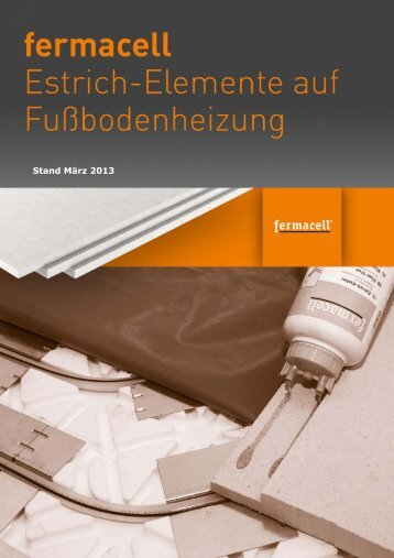 fermacell Estrich-Elemente auf ... - ausbau-schlau.de
