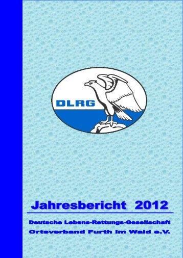 Jahresbericht2012 - Furth im Wald - DLRG