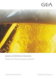 Systeme und Verfahren in Brauereien - GEA Westfalia Separator ...
