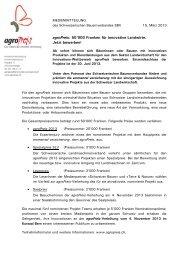Medienmitteilung der emmental versicherung vom 21 - SBV