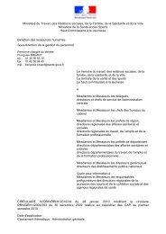 calendrier des CAP du 1er semestre 2010 - UNSA-Itefa