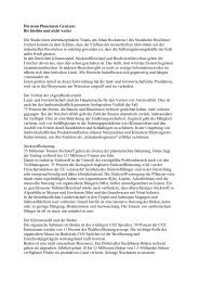 Die neun Planetaren Grenzen - Agrar Koordination
