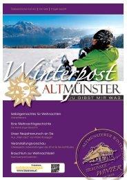 Winterpost Altmünster - Traunsee - Salzkammergut