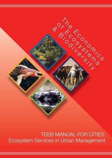 TEEB Manual for Cities