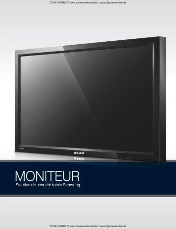 Moniteurs - Zoneinterdite.net