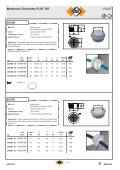 PPLLLIIIOO® PLIO® membrane grommets DG - Klinkmann. - Page 3