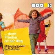 Download Broschüre - NÖ Montessori Werkstatt