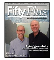 Aging gracefully - Richmond Parents Monthly