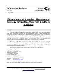 Nutrient Management Strategy - Government of Manitoba