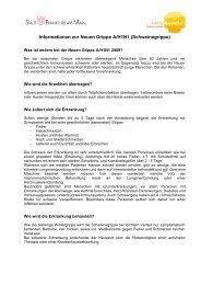 Informationen zur Neuen Grippe A/H1N1 ... - Frankfurt am Main