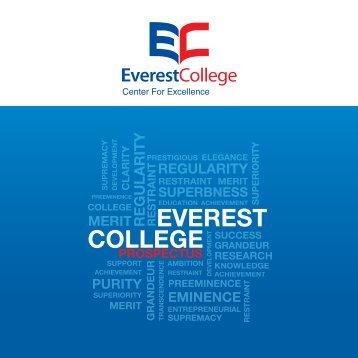 Prospectus - Everest College