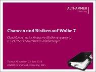 Download Vortrag - Althammer IT-Beratung