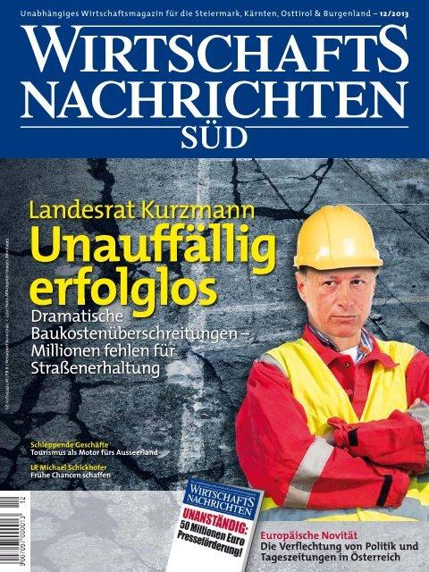 Ausgabe 12/2013 Wirtschaftsnachrichten Süd