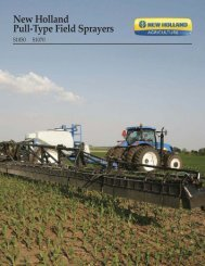 New Holland Pull-Type Field Sprayers