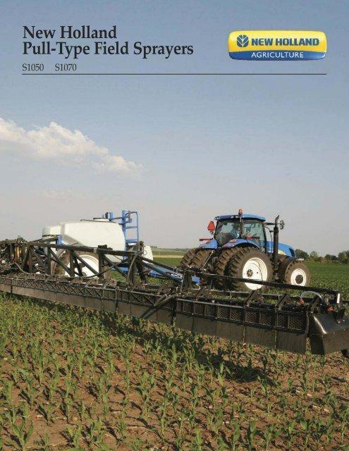 New Holland Pull-Type Field Sprayers