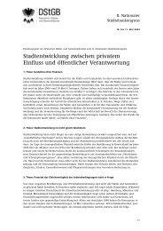 Stadtentwicklung zwischen privatem Einfluss und öffentlicher ...